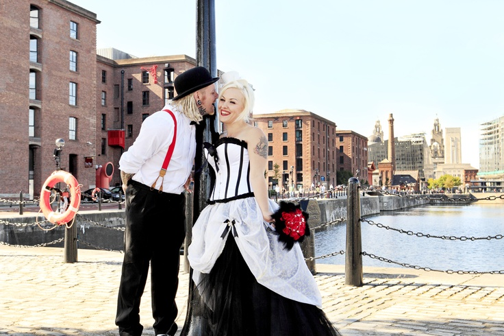 Liverpool circus themed wedding
