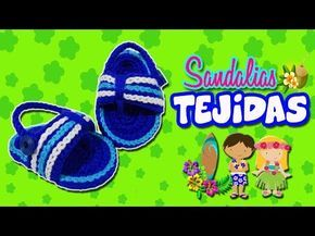 Sandalias o huaraches tejidos a crochet modelo Hawaiano | Paso a paso - YouTube