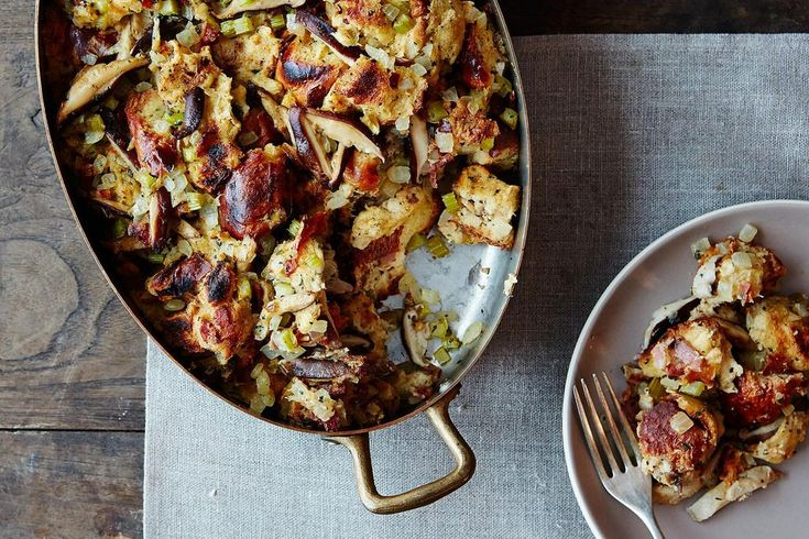 Mrs. Wheelbarrow explains how to mix up your Thanksgiving stuffing routine, with whatever you may have on hand.