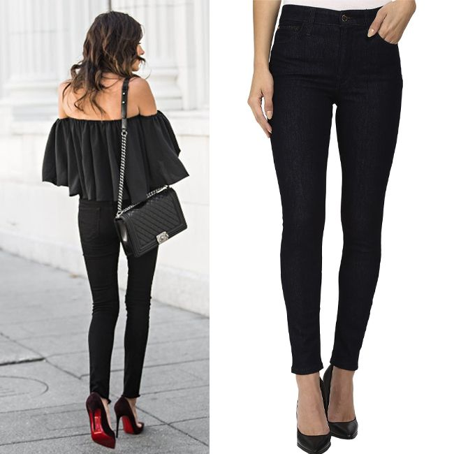 Современная альтернатива маленькому черному платью ;) Подобрать себе идеально сидящие черные джинсы с модной высокой посадкой вы сможете в JiST или jist.ua #fashionable #outfitidea: #stylish #black #jeans help to create #chic #evening #weekend #outfit #мода #стиль #тренды #джинсы #модно #стильно #вечеринка #выходные