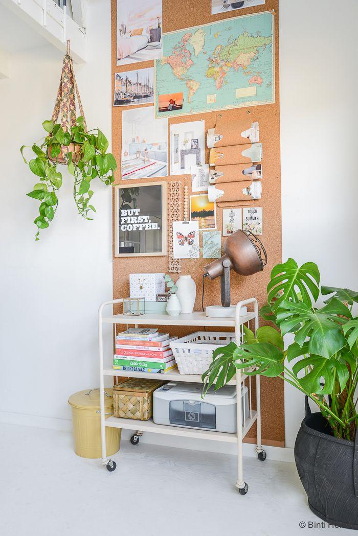 Un intérieur charmant et végétalisé rempli d'idées déco à piquer...