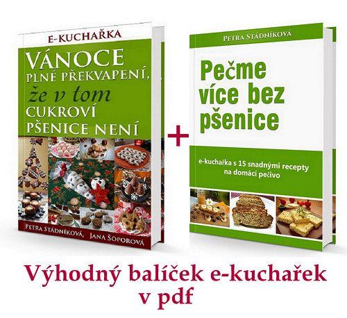 Balíček 2 e-kuchařek: vánoční+běžné pečivo / Zboží prodejce Pepuna | Fler.cz