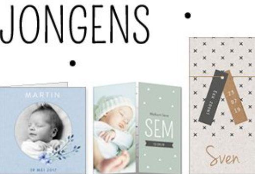 Geboortekaartjes: zelf een uniek geboortekaartje maken bij Koningkaart