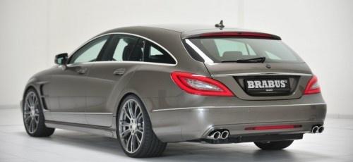 Darf es etwas Extra sein? Tuning für den Mercedes #CLS #Shooting #Brake #BRABUS präsentiert #Tuning -Programm für den Lifestyle-Kombi