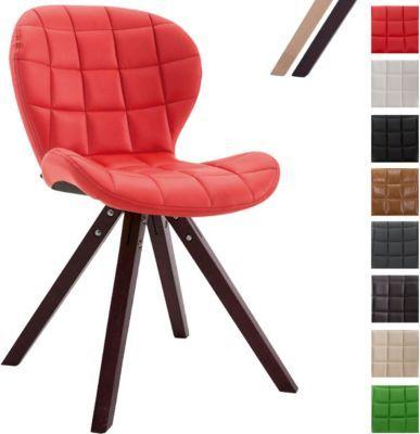 Design Retro Stuhl ALYSSA, Bein Form Square, Kunstleder Sitz Gepolstert,  Lounge Sessel, Buchenholz Gestell, Jetzt Bestellen Unter: Https://moebel.  ...