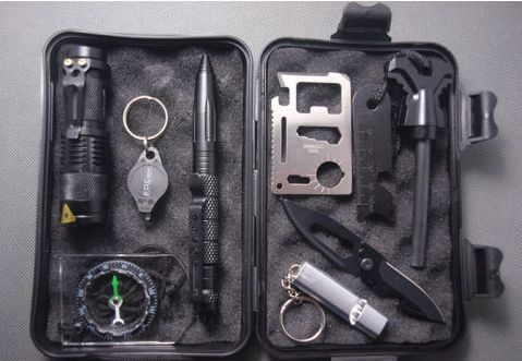 10 in 1 Professional Survival Field Kit