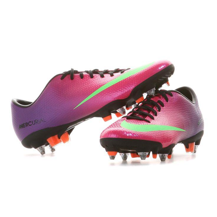 Nike | MERCURIAL VELOCE SG PRO Fußballschuhe Herren | fireberry-electric  green | http: