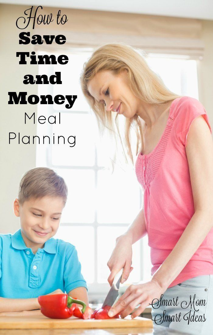 Meal Planning | Time-saving tips | Money saving tips | Save money with meal planning via @smartmomideas