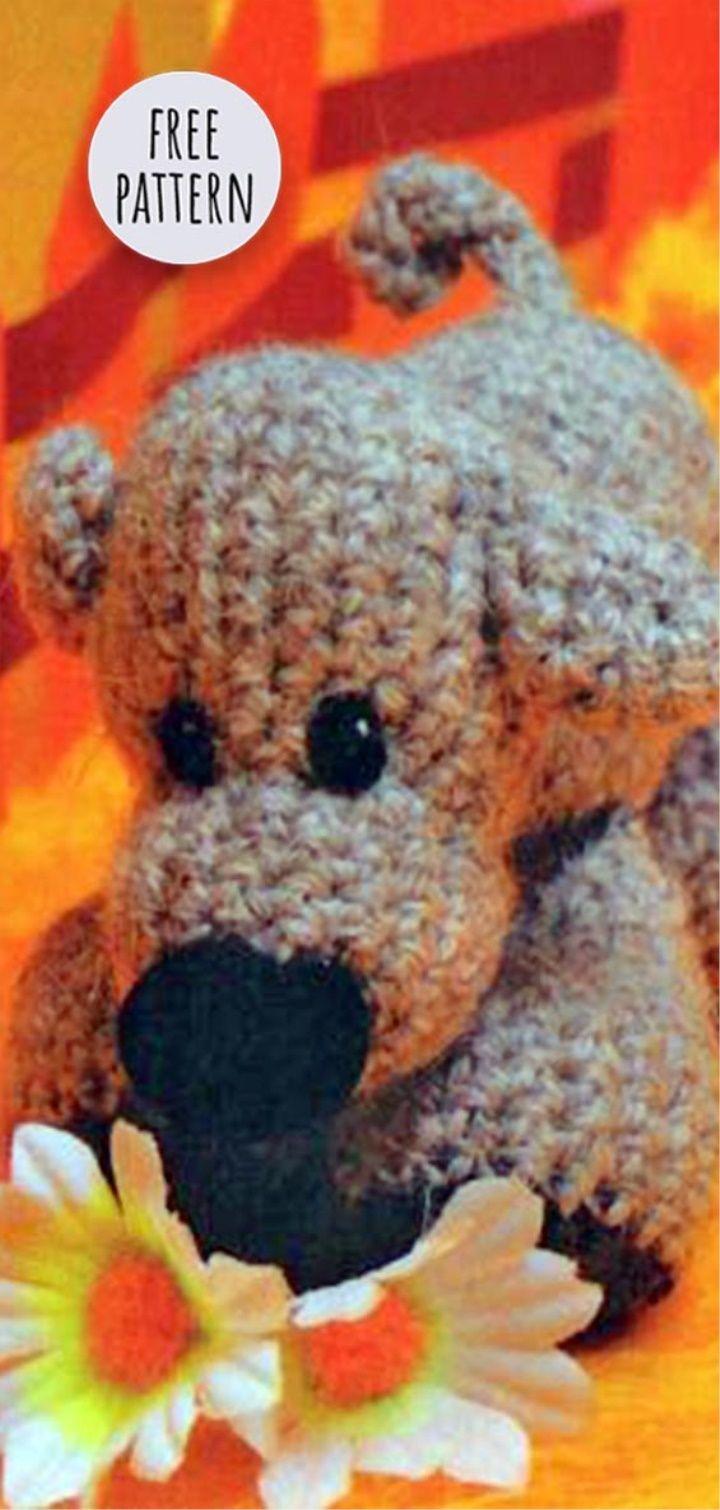 Crochet Toy Dog Free Pattern | Amigurumi | Pinterest