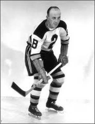 """Eddie Shore was one of the hardest hitters in the history of the National Hockey League, and he never forgot a slight. Shore personified """"old-time hockey"""" during the 1920s and '30s and was named to eight postseason All-Star teams. He also won two Stanley Cups with the Boston Bruins."""