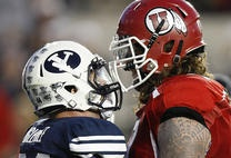 Former BYU, Utah football players have mixed views on rivalry hiatus | Deseret News