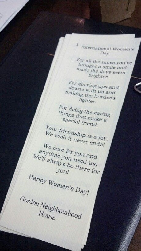 Int. Women's day