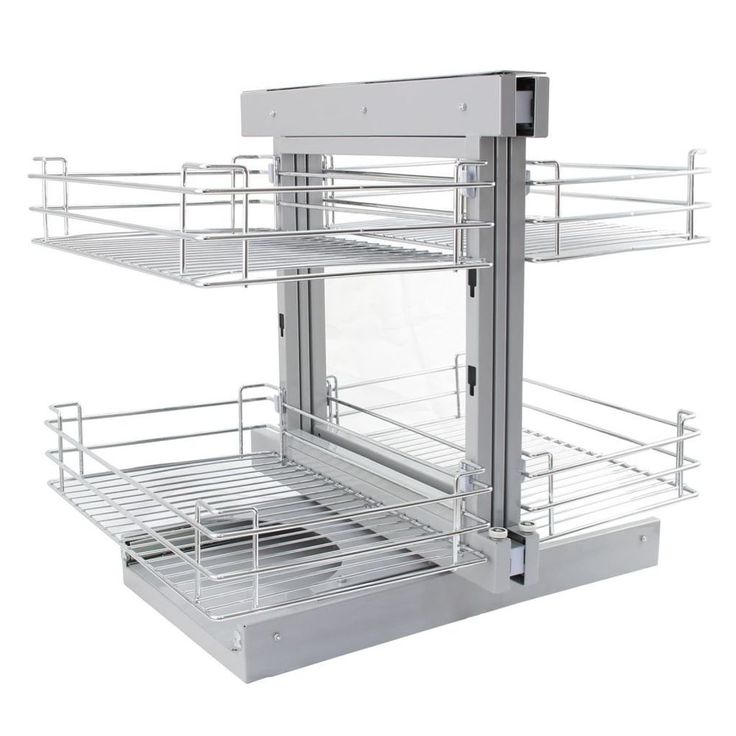 Kitchen Pull Out Basket Home Wire Organizing Cabinet Storage Cupboard Drawers #KitchenPullOutBasket