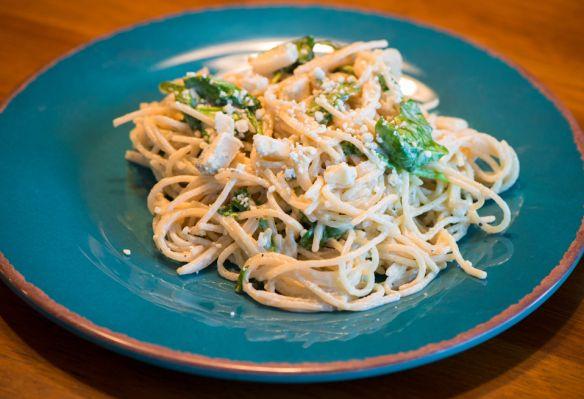 Spaghetti Gorgonzola--Fructose Malabsorption Recipes