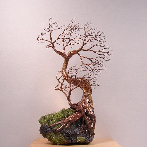 3d Wire Sculpture Ideas Wire Tree Of Life Duo Wind