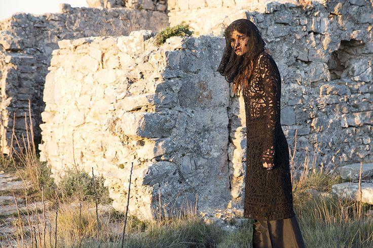 DR8357 'she is an oracle' dress #nevenka #madeinmelbourne #australiandesigner #black #lace