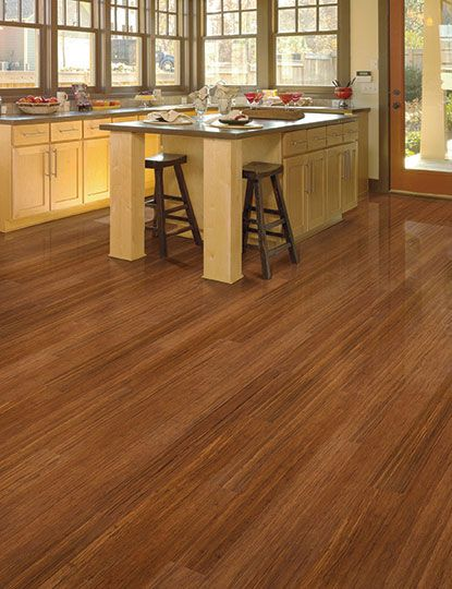 tropical collection strand woven harvest home legend bamboo flooring in kitchen - Home Legend Flooring