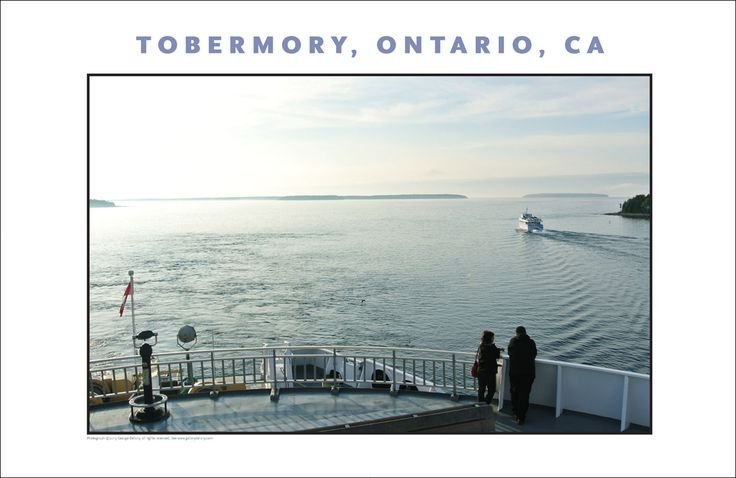 In Tobermory, Chi-Cheemaun Ferry, Ontario 519
