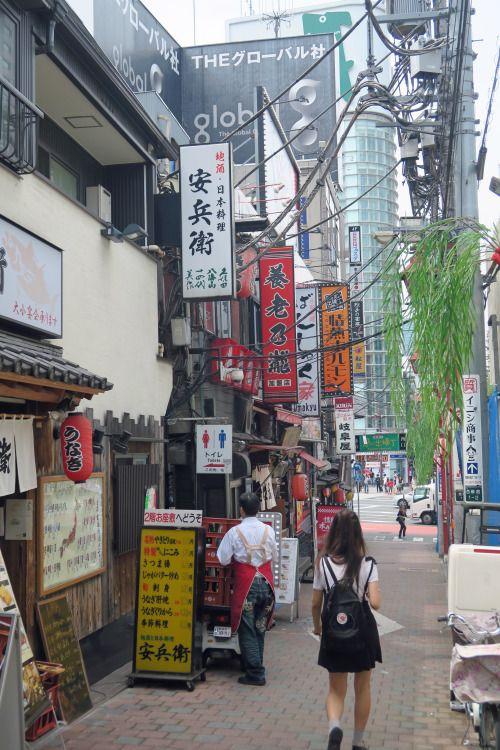 a street ,Shinjuku, Tokyo