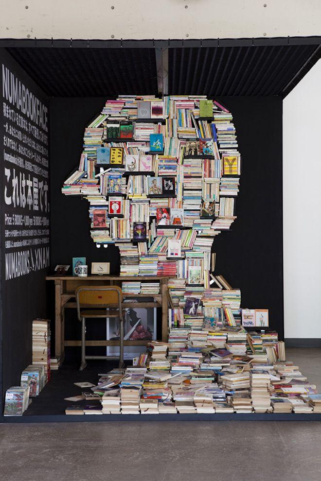 BOOKS make a HOME...  (Source: asaya)