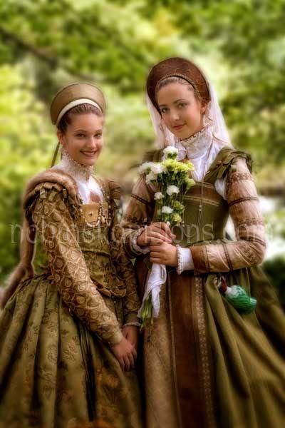 Ladies Dorothy and Penelope Devereux. Guilde of St, George, Bristol Renaissance Faire.