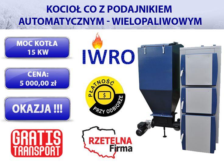 Kocioł z podajnikiem automatycznym o mocy 25 kw   Wejdź w bezpośredni link do aukcji kotła: ►http://allegro.pl/piece-kotly-piec-z-podajnikiem-zeliwny-slimak-15kw-i6290936038.html  KONTAKT:  ZADZWOŃ JUŻ TERAZ i dowiedz się więcej:  tel kom 796640017  e-mail: iwro@onet.pl  ▶Zapraszamy również na nasze aukcje allegro: http://allegro.pl/listing/user/listing.php?us_id=17206055  #KOCIOŁ #KOTŁY #PIEC #PIECE #DOM #OGRZEWANIE