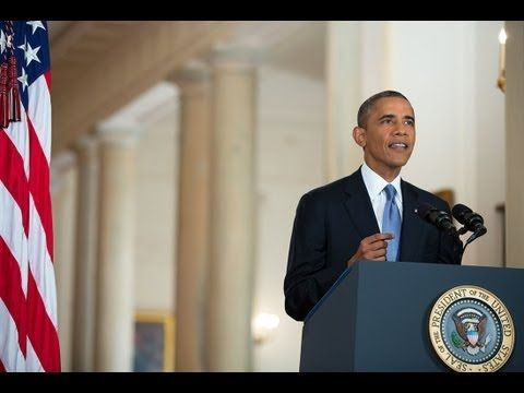 President Obama Addresses the Nation on Syria ~ President Barack Obama delivers remarks from the White House on Syria. ***My opinion Obama tells it like it is; We have a president that we can actually understand and on Syria I agree with Obama.*** !What is your Opinion?