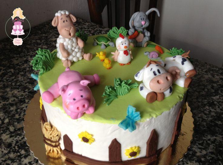 Torta Fattoria Animali