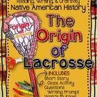 Native American History: The Origin of Lacrosse, Craftivity and Printables  Perfect for back to school fall months- Native American literature, history/social studies, or in a physical education unit. Thanksgiving, culture, myths and legends. Or just because this one looks like fun!