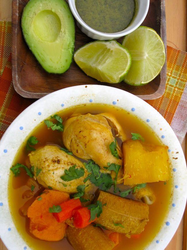 Colombian Chicken Sancocho - 8 Pts Recipe — Dishmaps