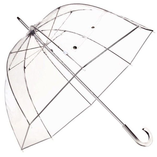 Totes Clear Bubble Womens Bubble Stick Umbrella (105 RON) ❤ liked on Polyvore featuring accessories, umbrellas, fillers, misc, other, clear bubble, bubble umbrella, see through umbrella, clear umbrella and transparent umbrella