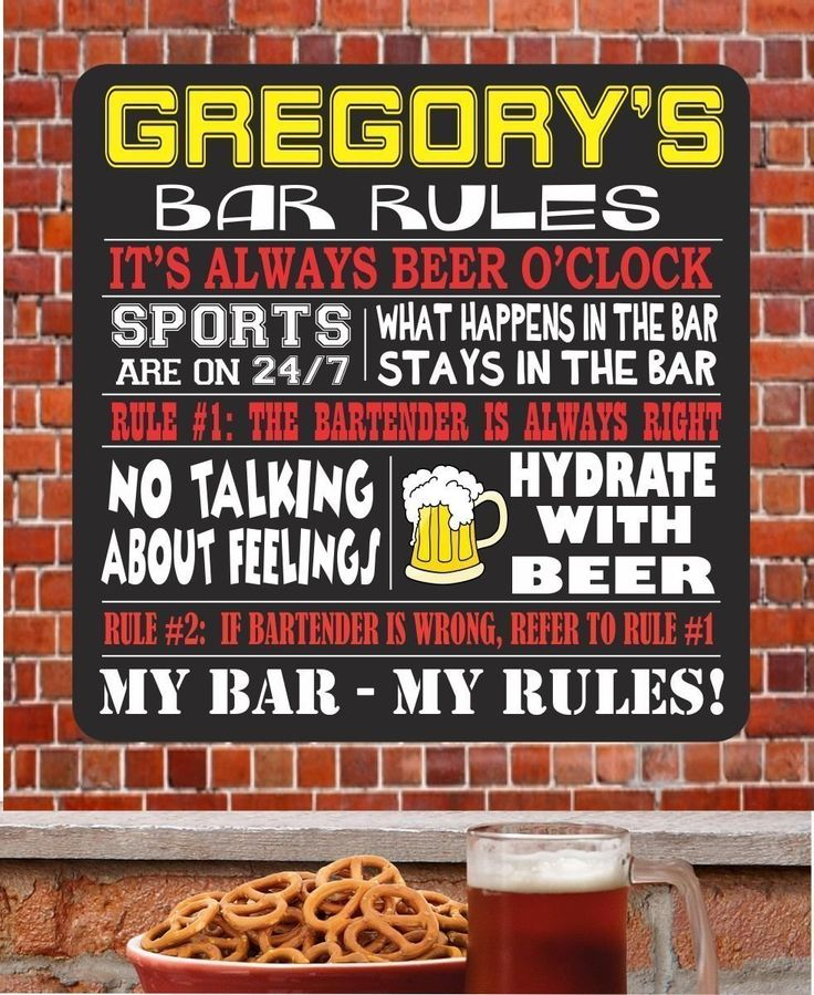 1000 Images About Funny Bar Signs For L5y On Pinterest: 1000+ Ideas About Sports Bar Decor On Pinterest