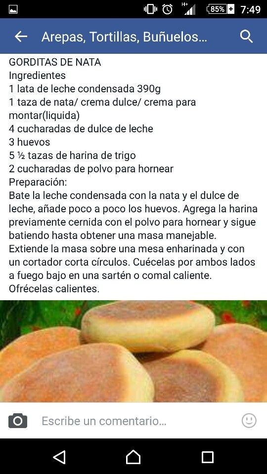 Gorditas de Nata (o crema dulce)