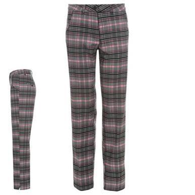 Slazenger | Slazenger Check Winter Trousers Ladies | Ladies Golf Trousers