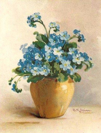 ✿Bouquet & Full Of Flower Basket✿ Catherine Klein