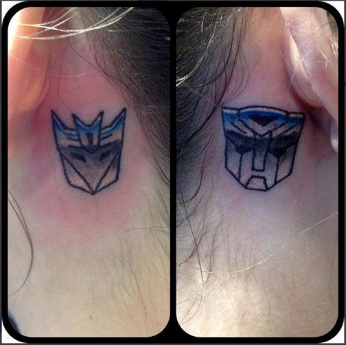 #Transformer  #Tattoos by Birdie at Black Rabbit Tattoo Studio in Port Moody, BC