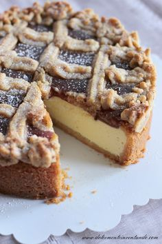 Dolcemente Inventando : Linzer cheesecake