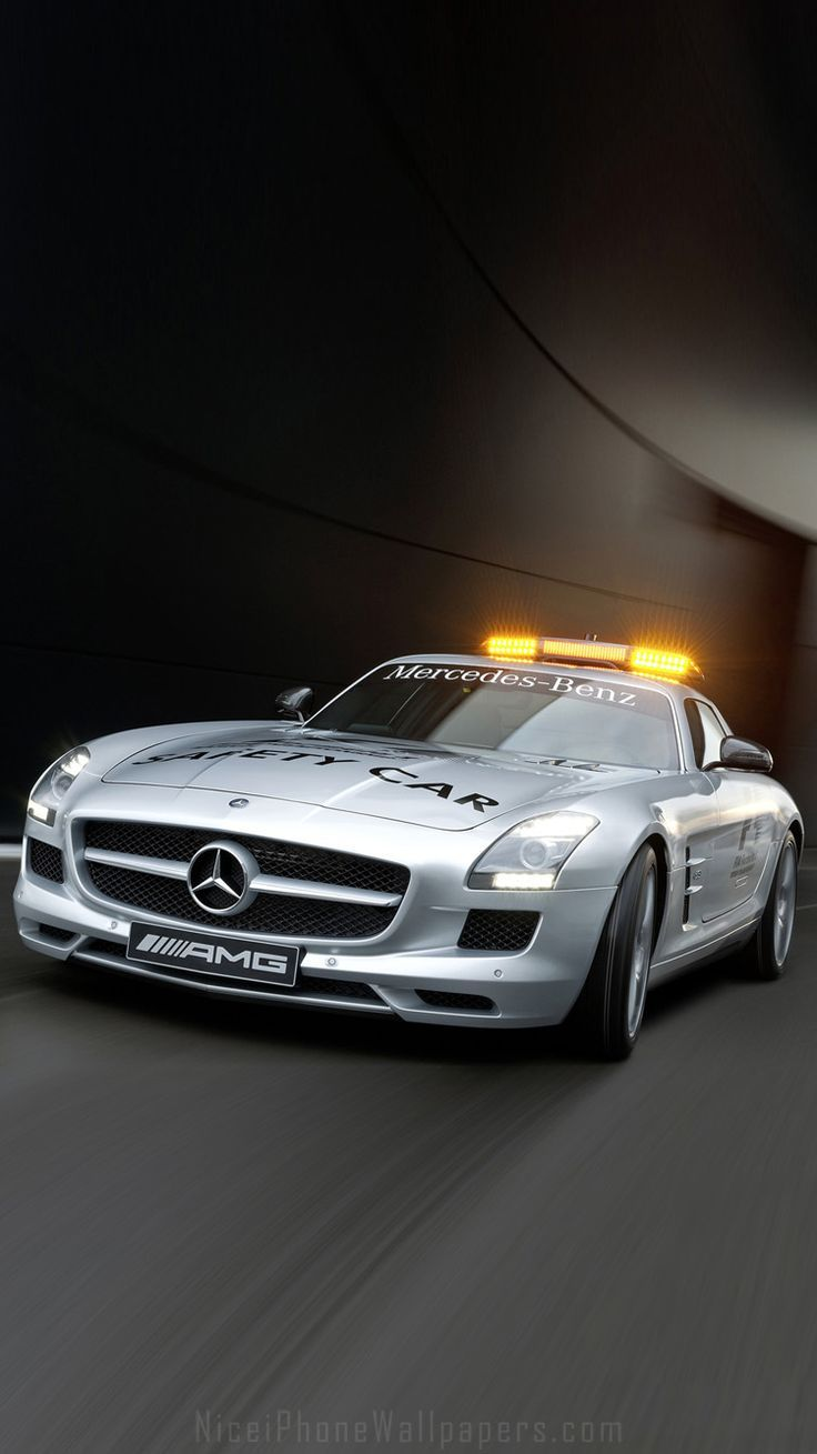 Mercedes F1 Safety Car Iphone 6 6 Plus Wallpaper Car Safety Car