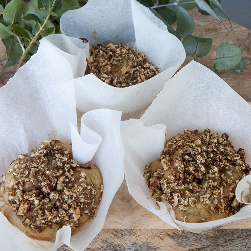 Banna oat muffins