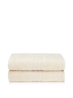 65% OFF Chortex 2-Piece Imperial Bath Sheet Set, Vanilla