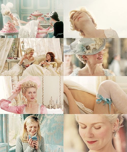Currently watching Marie Antoinette, love this movie and her.