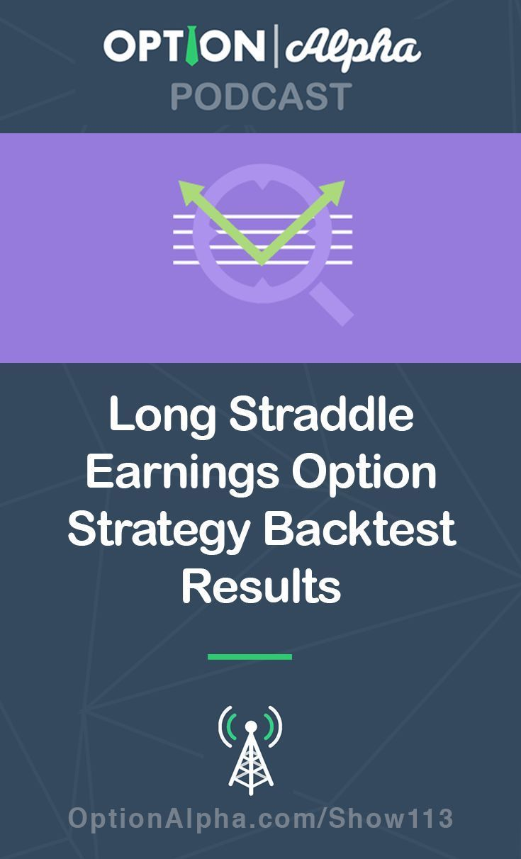 Long Straddle Earnings Option Strategy Backtest Results Trading