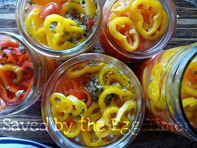 Sweet Vinegar Peppers