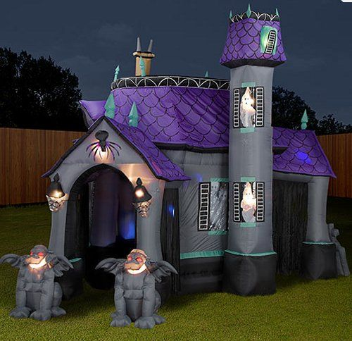 inflatable halloween tent or my new secret lair for my bed party decoration ideasyard