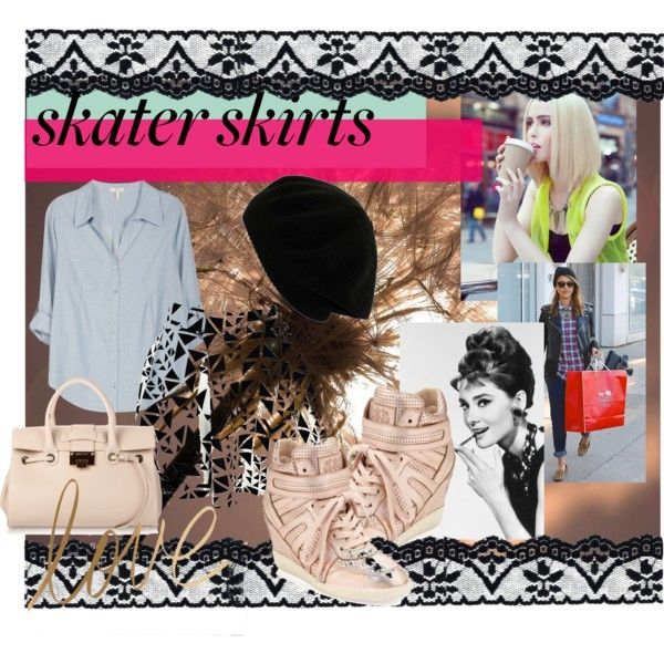 """""""Skater skirts"""" by hartantinora on Polyvore"""