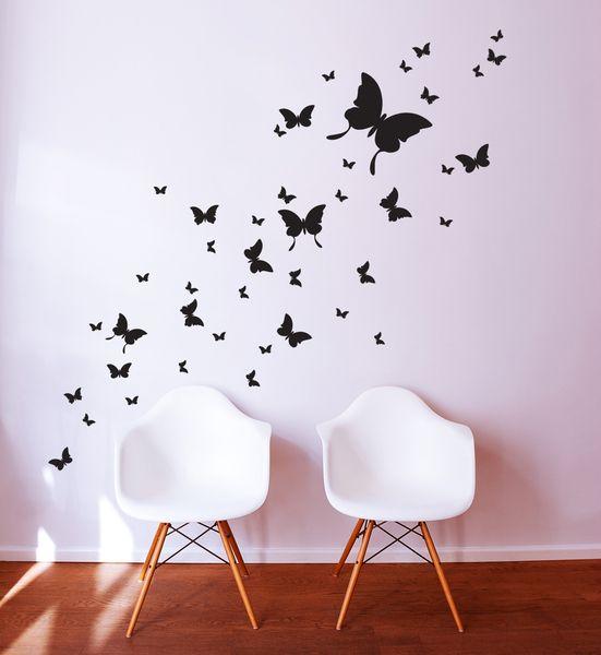 Wandtattoo Schmetterlinge Schmetterling M812