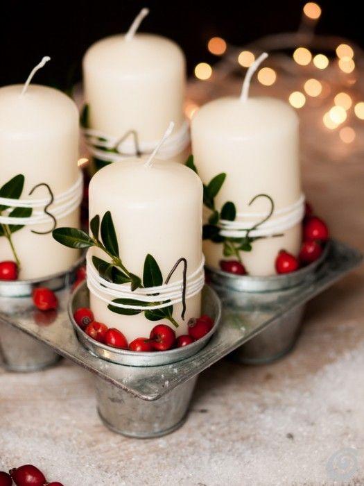 Racconti per immagini :: Decorazioni natalizie con la rosa canina