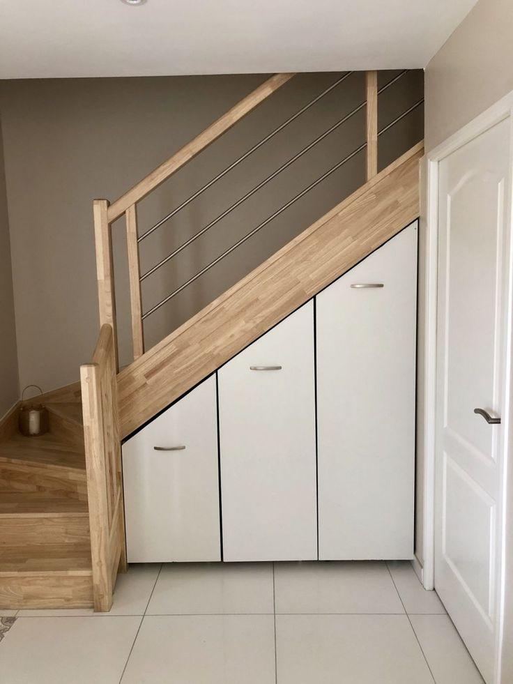 Épinglé par hanah faisal sur amazing storage and space management | Rangement sous escalier ...