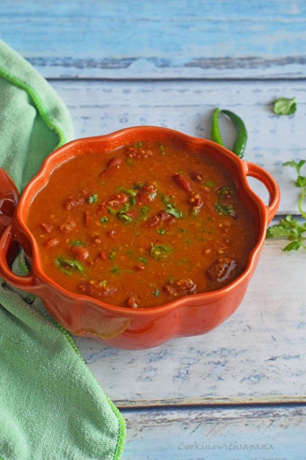 Cookingwithsapana: Kashmiri Rajma Curry