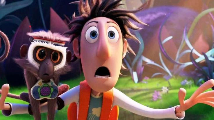 Cloudy With A Chance of Meatballs 2 - Flint Lockwood, the wacky inventor.